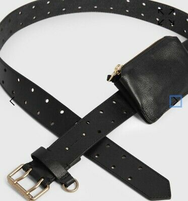 AU125.99 • Buy All Saints Unique Belt Bag New With Tags Sold Out Unwanted Xmas Gift Black L/xl