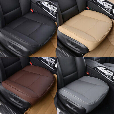 $ CDN33.02 • Buy Car PU Leather Front Seat Covers 3D Full Surround Protector Chair Cushion Mat