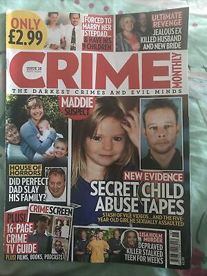 Crime Monthly September 2020 Issue 18 • 0.99£