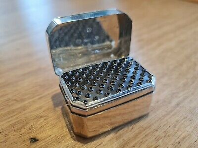 George III Antique Silver Nutmeg Grater, Birmingham 1806 Made By Joseph Willmore • 425£