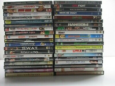 $ CDN16.69 • Buy Wholesale Lot Of 40 Assorted ***( Various Genres )*** DVDs & DVDs Movies (R#700)