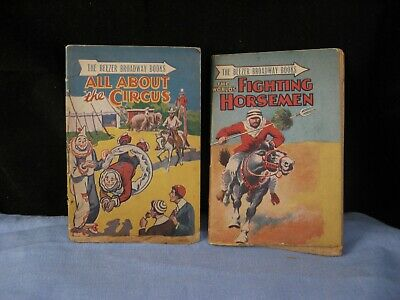 Vintage The Beezer Broadway Book All About The Circus Clown & Fighting Horsemen  • 0.99£