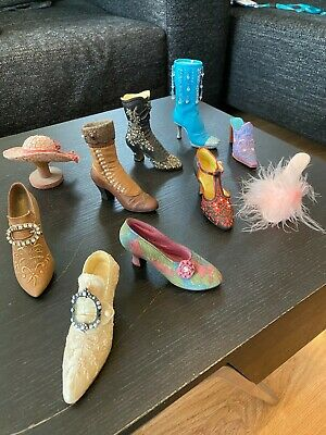 Just The Right Shoe Collection - 9 Unboxed Shoes, 1 Unboxed Hat   • 10£