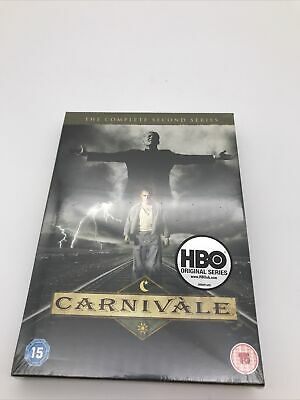 DVD - CARNIVALE - Season 2 - The Complete Second Series - 6 Discs - NEW / SEALED • 9.99£