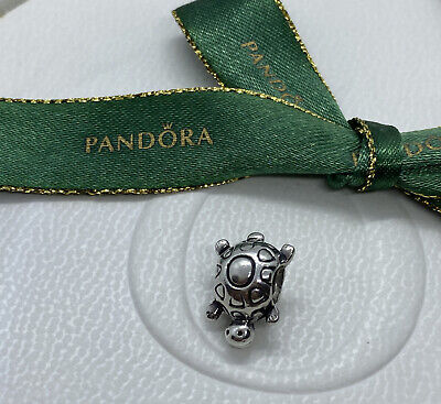 £11.11 • Buy Pandora Sterling Silver Turtle Animal Charm Bead 790158 Authentic Ale 925