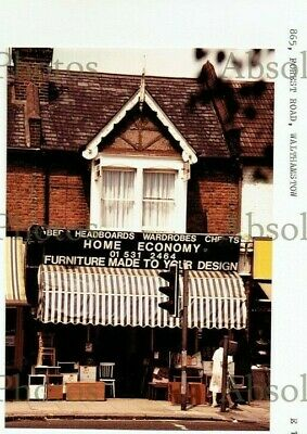 Photo Secondhand Furniture Shop 865 Forest Road Walthamstow London Dated 1986 • 12.50£