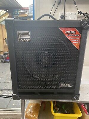 AU450 • Buy Roland Cube 100 Bass Amp 100watts 12  COSM Built-in Effects 37 Lbs XLR Out