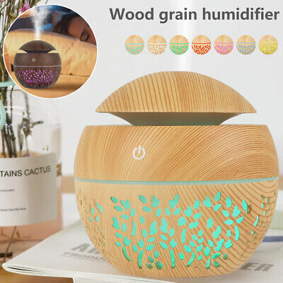 AU17.99 • Buy Ultrasonic Aroma Aromatherapy Diffuser LED Air Humidifier Purifier Essential Oil