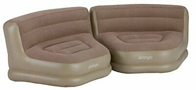 Vango Inflatable Relaxer Chair Set, Nutmeg, One Size • 71.99£