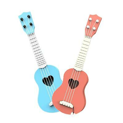 AU13.61 • Buy Plastic Kids Ukulele Classical 4-String Guitar Developmental Music Toy Gift