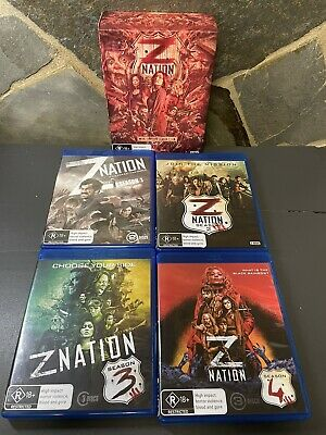 AU55 • Buy Z Nation The Complete Season 1-4 Blu Ray Box Set Region B