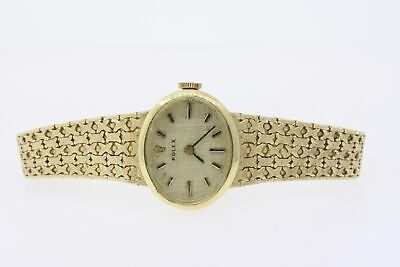 $ CDN2065.05 • Buy Rolex Ladies Watch Vintage 14k Yellow Gold Oval Face Manual Wind 1400 6.25