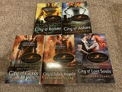 Cassandra Clare The Mortal Instruments Book 1-5 Series Young Adult - HDO • 12£