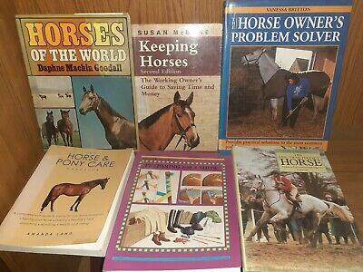 £15 • Buy Job Lot Of Horse Care And Pony Riding Books Good For Starting Out