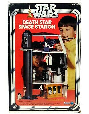 $ CDN1075.66 • Buy Vintage 1978 Kenner Star Wars Death Star Space Station Playset Complete W/Box