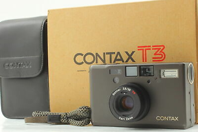 $ CDN2882.35 • Buy [  Near MINT In BOX ] Contax T3 Titan Black 35mm Point & Shoot Film Camera JAPAN