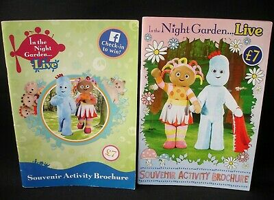 In The Night Garden 2 X Souvenir Books Brochures From The Live Show Collectable • 17.75£