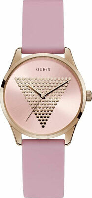$ CDN83.47 • Buy Guess Women's Mini Imprint W1227L4 36mm Pink Dial Silicone Watch