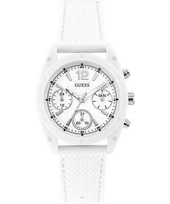 $ CDN69.77 • Buy Guess Women's Dart W1296L1 38mm White Dial Silicone Watch