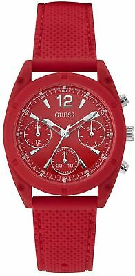 $ CDN69.77 • Buy Guess Women's Dart W1296L3 38mm Red Dial Silicone Watch