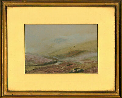 £80.30 • Buy Early 20th Century Watercolour - Mist On The Tor, Dartmoor