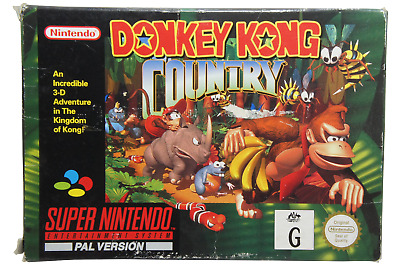 AU159.90 • Buy Donkey Kong Country Nintendo SNES Boxed PAL *Complete*