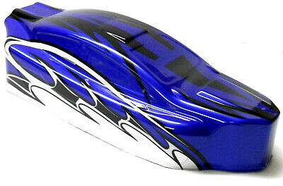 BS803-003 1/8 Scale Nitro RC Buggy Body Cover Shell Blue Uncut • 16.99£