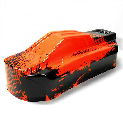BS819-033R 1/8 Scale RC Electric EP Buggy Narrow Body Shell Cover Red • 18.99£