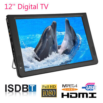 LEADSTAR 12Inch TFT LED TV Outdoor Television Digital TV HD Video Player • 75.24£
