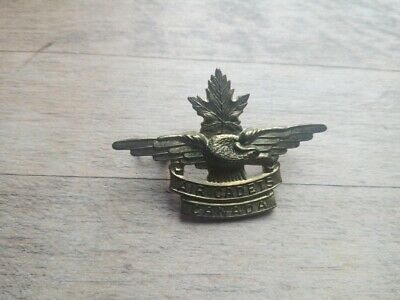WW2 Era? Air Cadets Canada Cap Badge • 2.50£