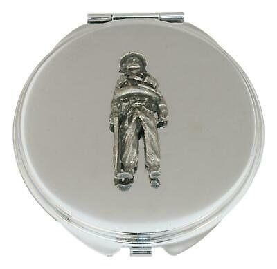 Soldier Compact Mirror Handbag Gift With Free Engraving 561 • 12.99£