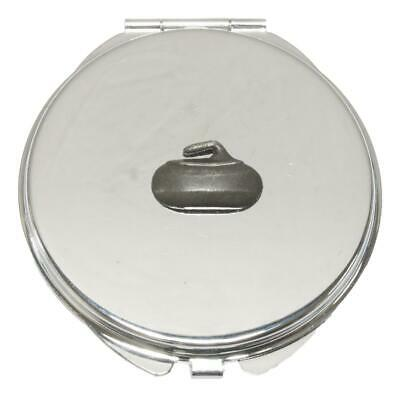 Curling Stone Compact Mirror Handbag Gift With Free Engraving 95 • 12.99£