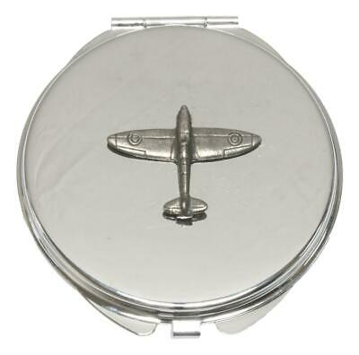 Spitfire Compact Mirror Handbag Gift With Free Engraving 342 • 12.99£