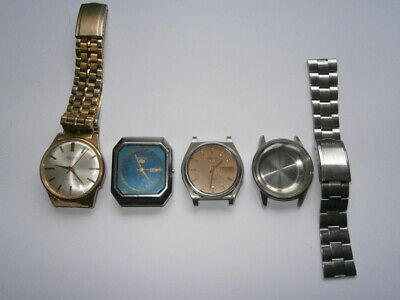 $ CDN24.20 • Buy Job Lot Of Vintage Gents SEIKO Watches Automatic Watches Spares Or Parts