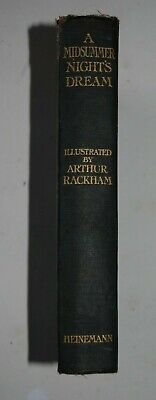 A Midsummer Night's Dream By William Shakespeare, Illustrated By Arthur Rackham • 13£