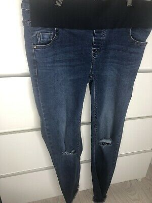 New Look Maternity Skinny Jeans Size 8 • 2.20£