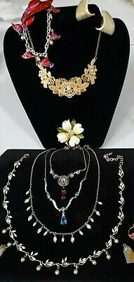 $ CDN13 • Buy 💥Vintage Designer~Mixed Jewelry Lot Stone Pendants,Earrings~Necklace S/signed💥