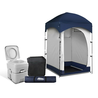 AU158.74 • Buy Weisshorn 20L Outdoor Portable Toilet Camping Shower Tent Pop Up Change Room BL