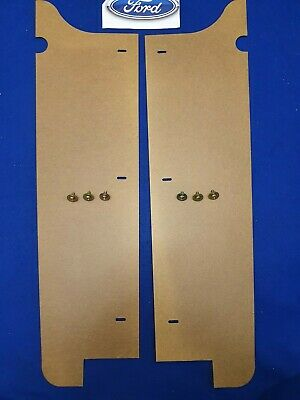 AU44.50 • Buy Ford Fairlane Zc Zd Boot Masonite Side Panel Covers Pair With Screws K Code 500