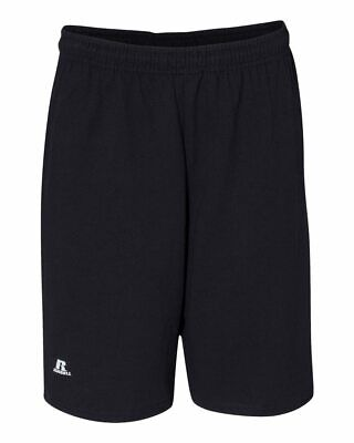 $12 • Buy Russell Athletic Essential Jersey Cotton 10  Shorts With Pockets