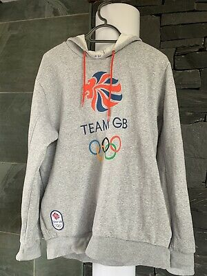Team GB Hoodie Size Large Official Merchandise Mens LONDON 2012 • 9£