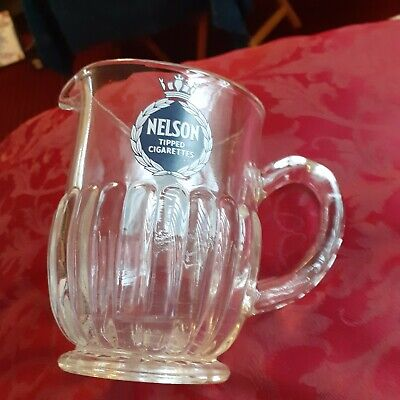 Nelson Tipped Cigarettes Vintage Pub Water Jug  • 7.80£
