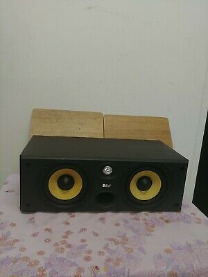 B&W CC6 S2 Bowers Wilkins 120W Centre Speaker Audiophile England UK Center Black • 120£