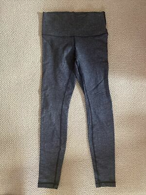 $ CDN34.07 • Buy Lululemon Leggings Wunder Under  Herringbone Yoga Pants Size 8
