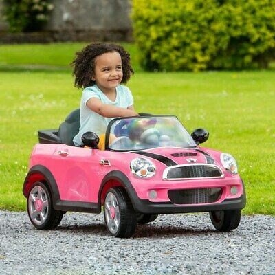 £197.99 • Buy Pink Mini Cooper 6V Electric Ride On With Remote Control