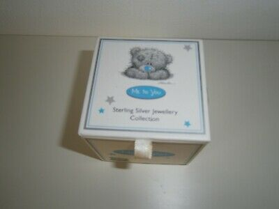 Me To You Bear 925 Silver Pendant With Necklace In Original Box • 15.99£