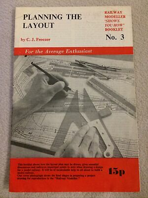Planning The Layout No 3 C.J. Freezer Booklet PECO PUBLICATION Railway Modeller • 2£