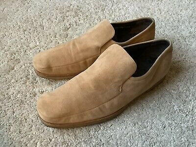 Bally Havanna Casual Suede Slip On Loafers Shoes Mens Size 10UK • 4£