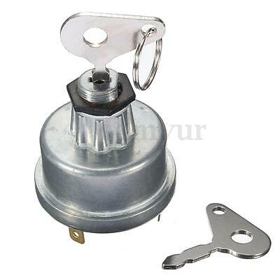 Universal Digger Plant Tractor Ignition Switch & 2 Key For Lucas Massey  `. • 8.25£