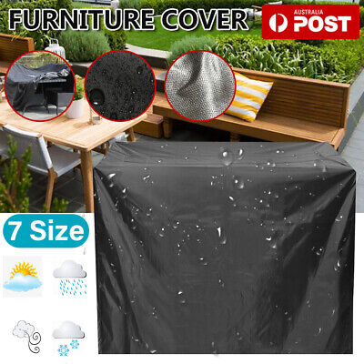 AU27.29 • Buy Waterproof Furniture Cover Outdoor Yard UV Garden Table Chair Shelter Protector